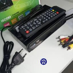 Conversor Digital p/ Tv analógica (entrega grátis)