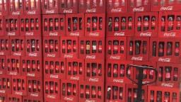 Caixa de coca retornável  vazia(vasilhame )