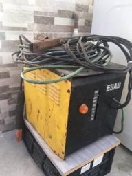 Maquina de Solda eletrica com enrolamento em Cobre