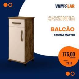 Título do anúncio: Balcão Palmas Master   Ideal Para Cozinha - Frete grátis.