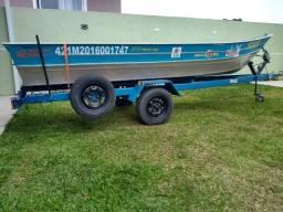 Conjunto top - Barco, carreta e motor