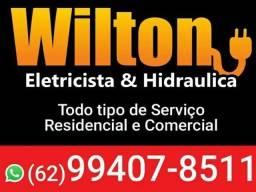 Título do anúncio: Wilton Eletricista residencial e predial e Serviços em geral