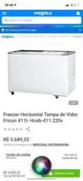 Freezer fricon horizontal 411 litros