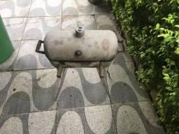 Churrasqueira de alumínio a bafo tamanho médio