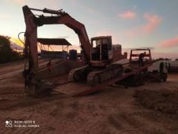 Escavadeira hidráulica poclain
