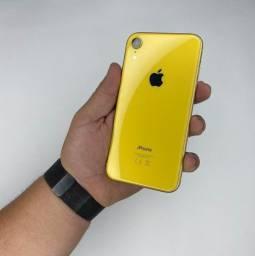 Título do anúncio: iPhone XR 64GB amarela