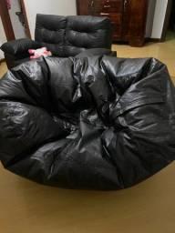 Puff sofá gigante em ótimo estado!