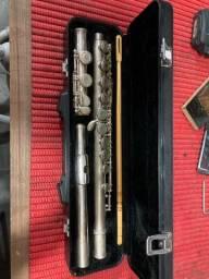 Flauta transversal Eagle envelhecida FL03S