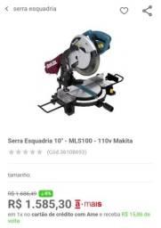 Serra de Esquadria Industrial 10 Pol. 255mm 1500W MAKITA-MLS100
