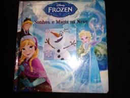 Livro Frozen - Sonhos e Magia na Neve