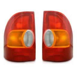 Par Lanterna Traseira Strada 1998 até 2000 Nova - Valor do Par
