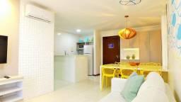 Excelente Apartamento no Condomínio Barra Bali em Barra de São Miguel