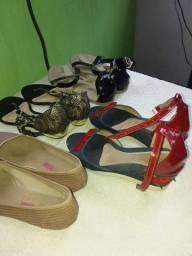 Vendo sapatos femenino.