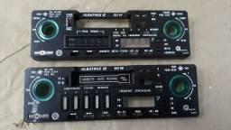 Frente motoradio albatroz II e III toca fitas