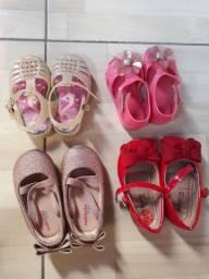 Sapatos de bebe tudo 70