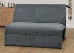 Sofa cama sued aveludado