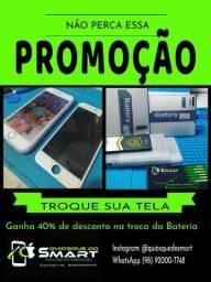 PROMOÇÃO TROCA DE TELA