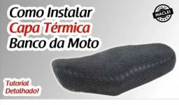 Capa térmica pra banco de moto Bros titã fan 160/150/125