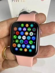 Smartwatch HW12 Faz ligações/Coloca foto/ Lançamento! (Novo)