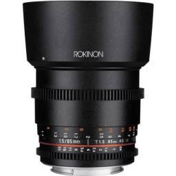 Lente Rokinon Cine 85mm T1.5 - Canon EF
