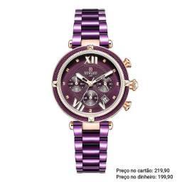 Relógio feminino importado original Reward cronógrafo