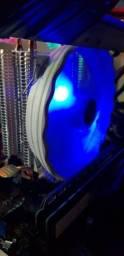 I3 10100f com cpu cooler, 20 dias de uso.