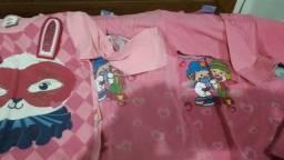 Camisetas Tamanho 3