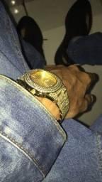Relógio ice Luxury cravejado