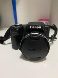 Câmera cânon lens 30x