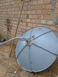 Antena Sky grande com Receptor