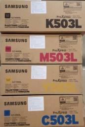 Conjunto 4 Toner Samsung Lacrados