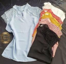 Lote com 50 Peças de roupas Novas