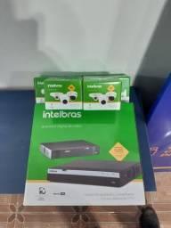 Câmeras Intelbras Multi HD 1499,00 Instalado