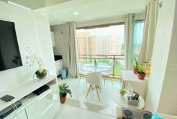AL - Apartamento com 02 quartos, andar alto 68m² (TR73996)