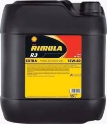 Óleo Shell 15w40 Rimula R3 Extra Cg-4 Diesel Mineral 20l