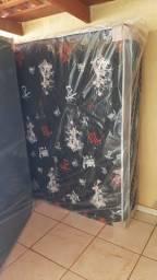 Cama box casal de 12 cm de espuma nova direto da fabrica