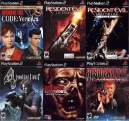 Coleção Resident Evil - PS2