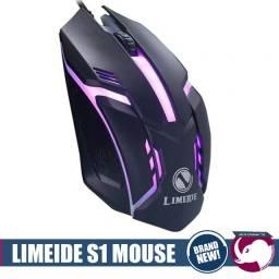 Mouse Rgb 1600 dpi Gamer limeide