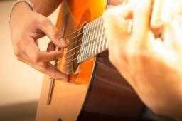 Aulas de violão em ( vend nova ) 25 reais por aula