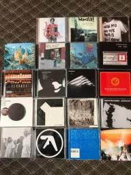 Lote de 19 CD's De Electropop Europeu/Indy Rock (Importados)