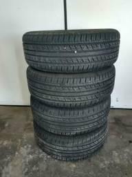 """Jogo de pneus com roda 14"""""""