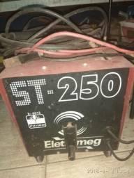 Maquina de solda eletromeg 250 amperes
