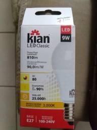 10 lâmpadas 9 watts , 3.000k led amarela IMBATÍVEL !!!
