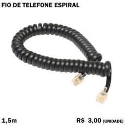 Fio de telefone Espiral