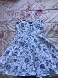 Vestido florido lilás