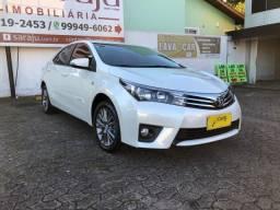 Toyota Corolla XEi Top de Linha Único Dono Placa A Impecável - 2016