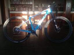 Bike Audax Auge 40 - Carbon 2019 - Semi Nova - 17,5