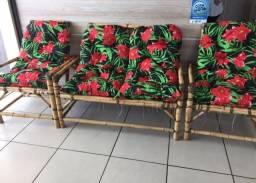 Cadeiras de Bambu (Nova)