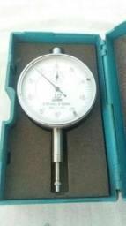 Relógio Comparador De 0-10mm/0,01mm De Alta Precisão