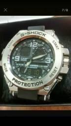 Relógio Masculino Casio G-Shock Aço